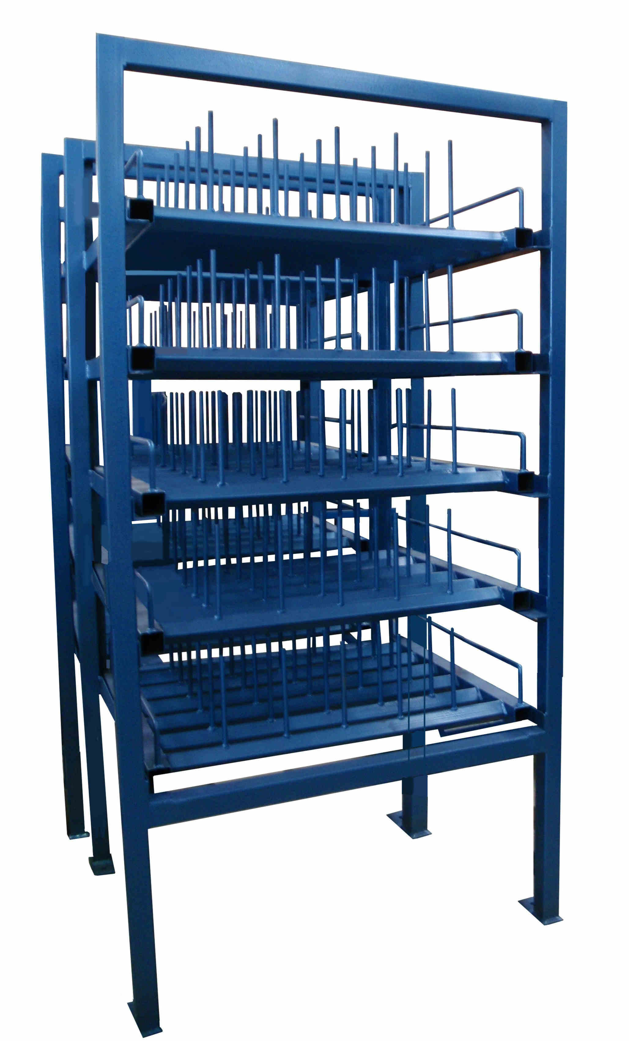 Used Pot Storage Rack